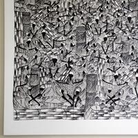 Haitianische Kunst: Edwigth Aspil - Liebe zum Detail in XXL