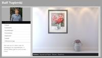 kostenlose Homepages für Künstler (neues Produkt von Artfolio)