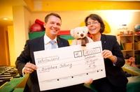 10.000 Euro für Kinderhospiz Bärenherz