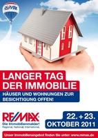 showimage RE/MAX Langer Tag der Immobilien:  Immobilien öffnen dem Kunden die Tür