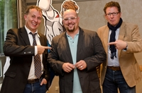 Frankfurt Buchmesse 2011: Benjamin Schulz präsentiert seine Marketing-Heroes