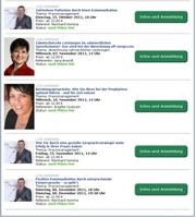 Fortbildungen zum Thema Kommunikation und Abrechnung - neue Webinare für Zahnärzte und ZFA im Herbst/Winter 2011