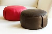 Weihnachten: Zeit der Besinnung - Zeit zur Entspannung  Die Kunst des Sitzens - Hochwertige Lederkissen zum rundum Wohlfühlen