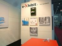 EXPONATEC 2011: e-Xhibit zeigt Bilderrahmen für Drucke auf Alu-Verbundplatten