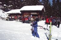 Skifahren und gutes Essen