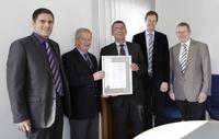 Als erstes Unternehmen in Mittelhessen:   CLOOS erhält Bonitätsgütesiegel