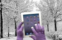"""G&BL heizt dem eiskalten Händchen ein: """"iTech Gloves"""" für die Bedienung eines Touchscreens mit Handschuhen"""