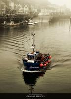 """showimage Fotokunst von Graham Rhodes - """"Images of Scarborough Harbour"""" erschienen!"""