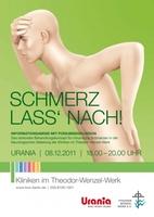 """SCHMERZ LASS"""" NACH! in der Urania"""