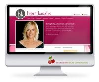 Neue Homepage der Moderatorin und Journalistin Birte Karalus