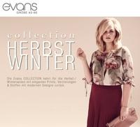 Evans, Anbieter von Damenbekleidung in Übergrößen startet deutschen Online-Shop.