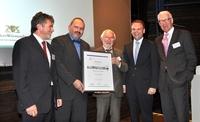 Empfingen gewinnt Anerkennungspreis   mit Ideen gegen die Internationale Bankenkrise