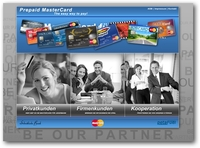 Die MasterCard-Prepaid.de-Seite im frischen Design - Prepaid MasterCards auf einen Blick
