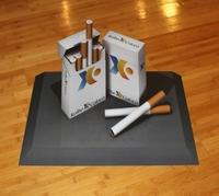 Fußbodenwerbung in 3D - Fußbodenaufkleber mit räumlicher Wirkung am Point of Sale