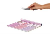 Somikon 3in1 Mini-Dokumentenscanner im Kugelschreiber SC-390.KS
