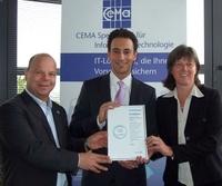 showimage Creditreform zertifiziert Bonität der CEMA