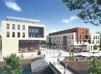 Baustart für Quartier am Leinebogen