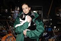 aktion tier rettet Katze aus Berliner Messie-Wohnung