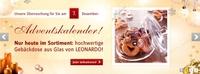 BAUR-Adventskalender vom 7. Dezember: Gebäckdose von Leonardo!