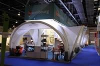 """X-GLOO Eventzelt auf der """"The Big 5 Show"""" in Dubai"""