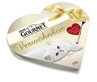 Die neue GOURMET Verwöhnbox in Herzform mit exklusiver   Gourmet-Gabel
