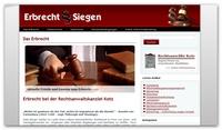 Erbrechtsberatung in Siegen und Kreuztal - kompetente Beratung rund um das Erbrecht
