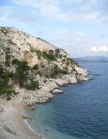 Wandern, Baden und Zugfahren am Mittelmeer