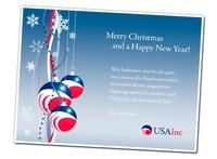 USAinc.de wünscht allen US-Firmengründern ein frohes Fest und einen guten Rutsch