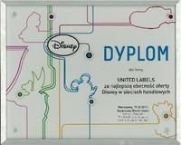 """United Labels AG bekommt in Warschau das """"Disney Dyplom"""" verliehen"""