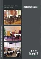 TENHAEFF stellt den neuen Gastronomie Möbel Gesamtkatalog vor