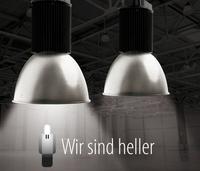 """Dimmbare LED-Hallenstrahler von """"Wir sind heller"""""""