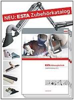 ESTA präsentiert erstmals Zubehörkatalog für Absaugtechnik