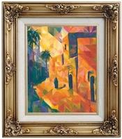 Großformatige Gemäldescans - Hochauflösende Bilddigitalisierung und Kunstreproduktion