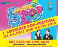 """Partytime in Leipzig: Musikfans feiern """"50 Jahre Pop"""" mit TV-Shows am 3. und 4. Februar in der Messehalle 1"""