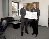 B·A·D GmbH spendet 7.500 Euro an die Deutsche Herzstiftung