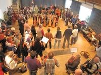 Tanzworkshop mit Live-Musik auf Burg Fürsteneck