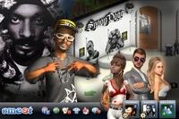 Snoop Doggs Hip Hop-Welt auf Smeet