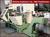Versteigerung nach Betriebsschließung: Maschinen- & Anlagenbau