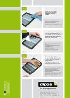 """Dipos Antireflex: """"Sehr gut"""" für die Reflexionsminderung bei den Displayschutzfolien für iphone, Tablet & Co."""