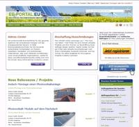 Informationsplattform EE-PORTAL.EU für erneuerbare Energien und energieeffizientes Bauen gestartet