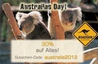 showimage Australia Day 2012 - einmalige 30% auf ALLE Artikel bei ROADSIGN®australia