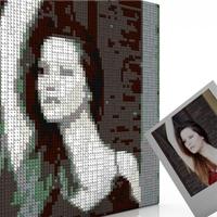Lego Mosaik vom eigenen Foto