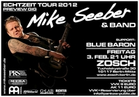ECHTZEIT TOUR 2012: Mike Seeber live am 3.2. in Berlin, am 11.2. in Nordhausen