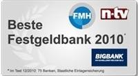 BIGBANK mit leichter Zinssenkung beim Festgeld - bis zu 5,65 % möglich