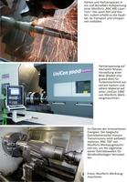 showimage Monforts auf der METAV 2012: 5-Achsbearbeitung bis 2500 mm Länge