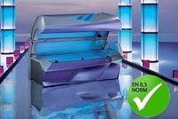 Umrüstung nach Euronorm durch Lacher macht Solarien sicherer