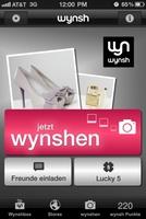 die überarbeitete wynsh-App
