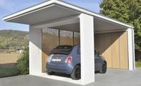 Alternative zu Carport und klassischer Garage