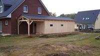 Carports und Terrassenüberdachungen aus Holz – die Saison 2012 hat begonnen.