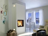 Spartherm: Dank optimaler Wärmedämmung rücken Heizkamine näher an die Wand